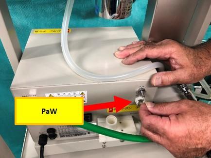 動物用人工呼吸器のPaW