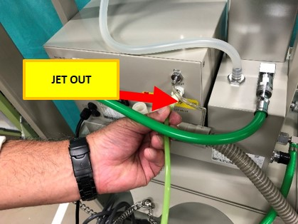 動物用人工呼吸器のJET OUT